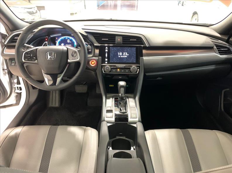 CIVIC   1.5 16V Turbo Touring  -      2019/2020   25000 km -      Gasolina   Branco